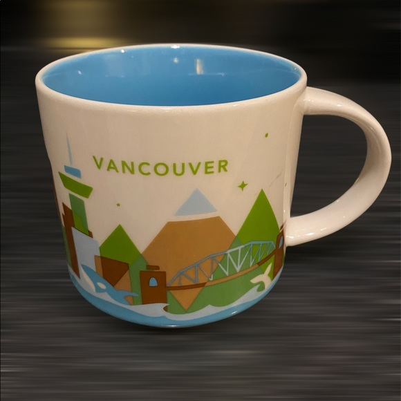 Starbucks Vancouver You Are Here Collection Mug